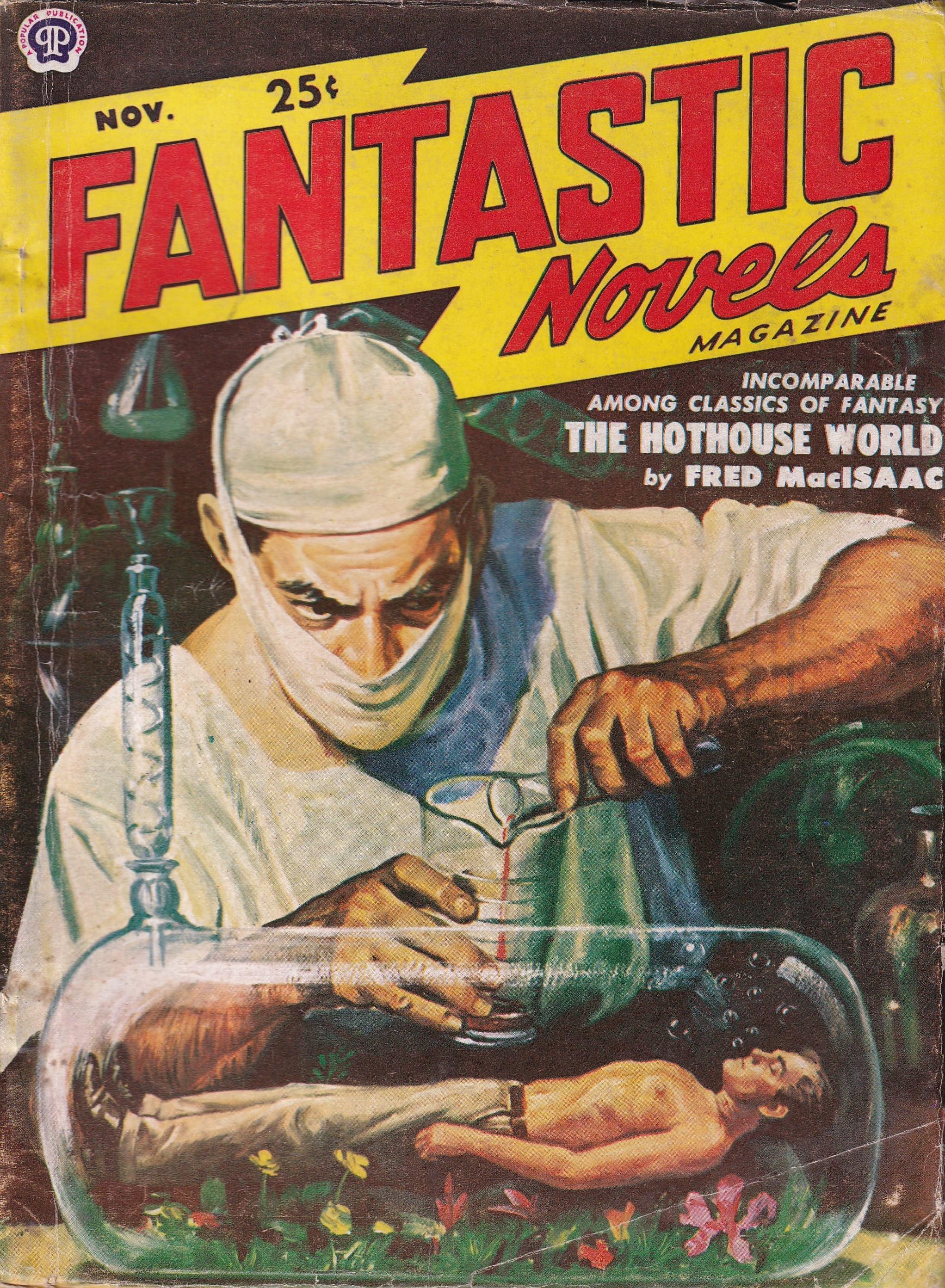 Fantastic Novels Magazine November 1950